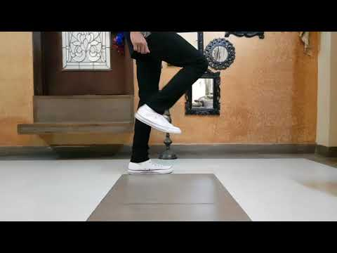 How to do basic dance footwork (PART 2)   Step-by-step tutorial   Fluidic Robot