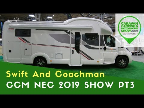 Swift And Coachman | Caravan Camping And Motorhome Show NEC 2019 Pt3