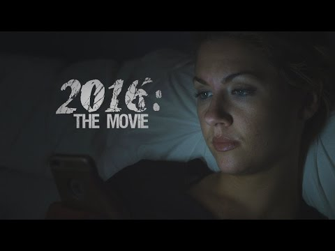 Someone Turned 2016 Into a Horror Movie Trailer and It's Terrifying AF