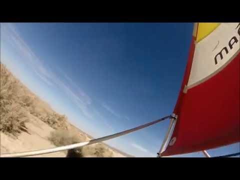 Land Sailing at El Mirage Dry Lake, February 2014