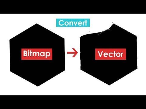Tutorial Photoshop - Cara Mengubah Gambar Bitmap Ke Vector Memakai Adobe Photoshop thumbnail