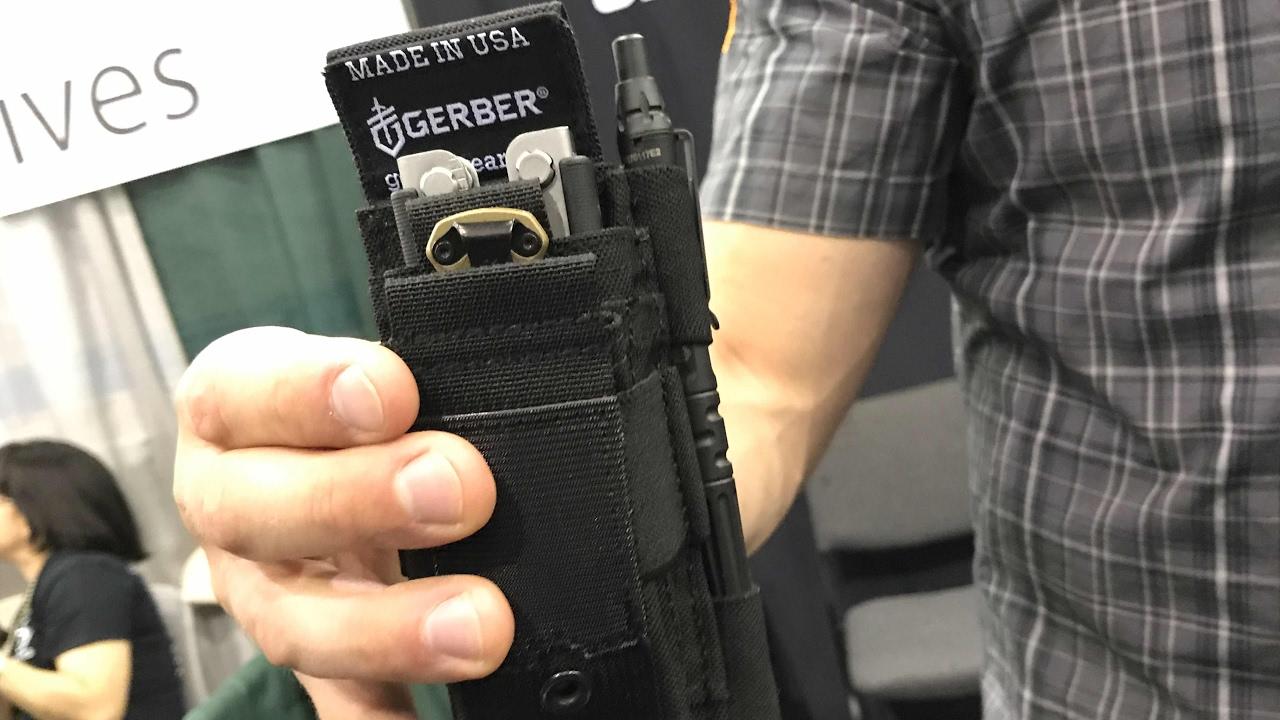 Gerber Custom Fit Dual Multi Tool Sheath Knife Multi