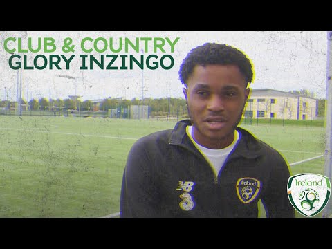 Club & Country | #IRLU16 &  St. Patrick's Athletic's Glory Nzingo