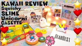 COSE KAWAII da GEARBEST: Slime, unicorni, squishy+COUPON! review By Lara e Babou