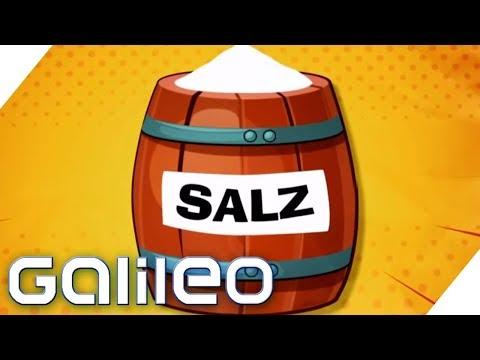 Wie schädlich ist Salz? | Galileo | ProSieben