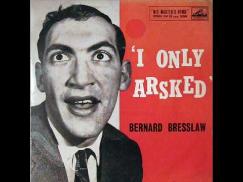Bernard Bresslaw - I Only Arsked / You Need Feet / Alone Together / Mad Passionate Love (1959)