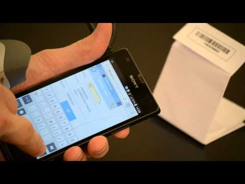 F8 Warehouse Management on Android Device