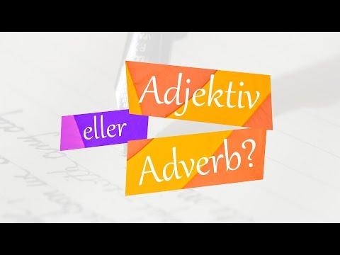 شرح الصفات والاحوال - Adjektiv eller Adverb