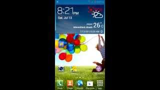 How to make status bar transparent like Galaxy s4