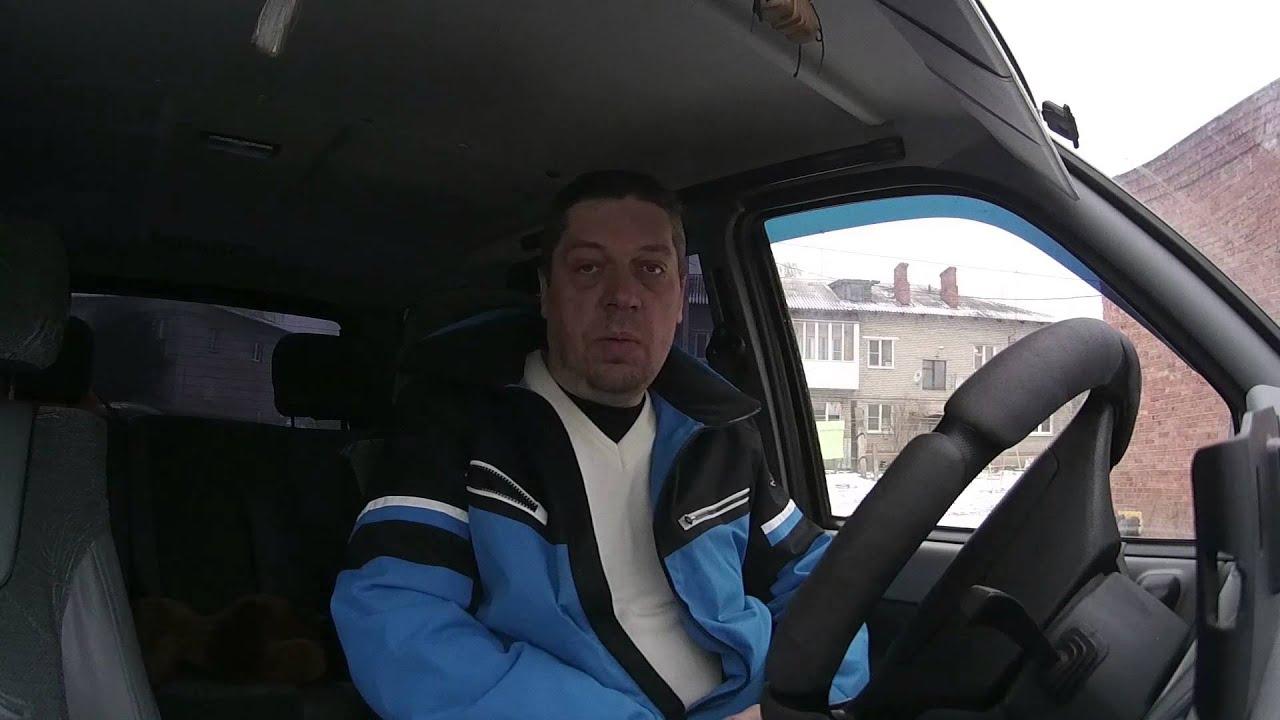 После ДТП   УАЗ Патриот vs ВАЗ 21099