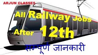 All Railway Jobs After 12th  ||  12th के बाद Railway में सरकारी नौकरी 2017 Video