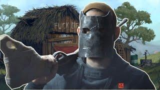 Как сделать маску из Rust Metal Facemask Rust homemade(В этом видео я расскажу как сделать металлическую (железную) маску из игры Rust. Для изготовления маски взял..., 2016-05-27T15:54:00.000Z)