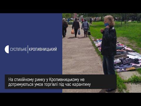 UA: Кропивницький: На стихійному ринку у Кропивницькому не дотримуються умов торгівлі під час карантину