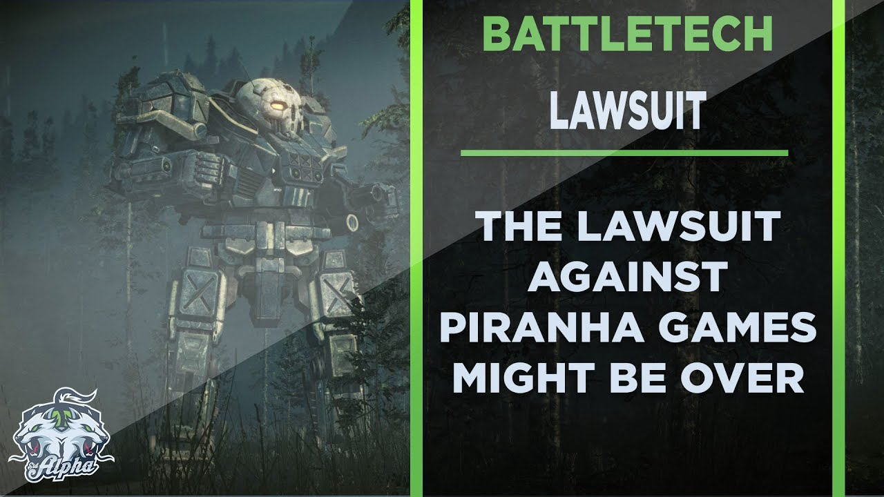 Harmony Gold Battletech Lawsuit Update: The Piranha Games Settlement