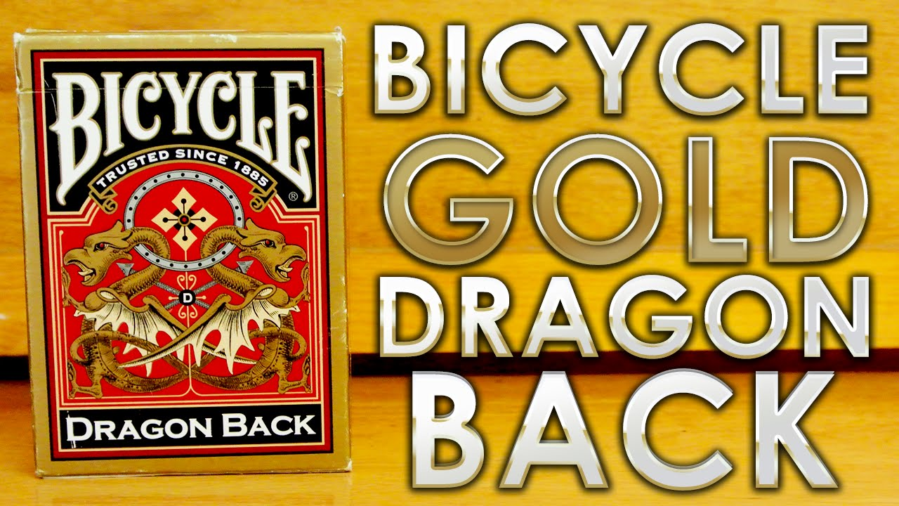 Bicycle gold dragon back playing cards golden dragon bar and grill hiring