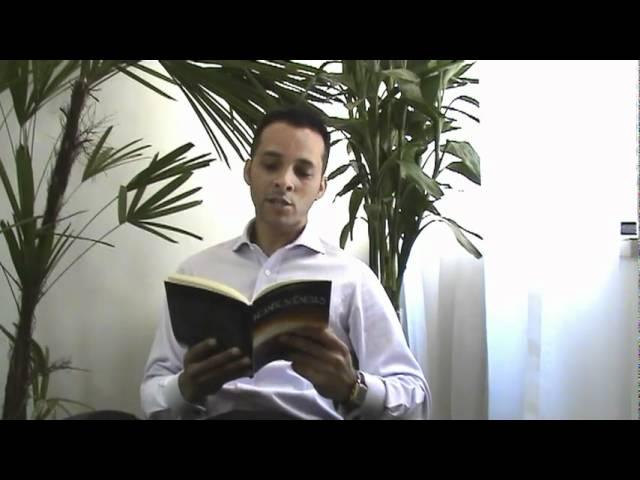 Leitura de Trecho do Livro Incandescências (1ª Parte ) - Alex Bezerra de Menezes