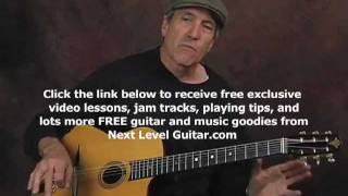 Arpeggio exercises Gypsy Jazz guitar lesson learn chords arpeggio devices with tabs