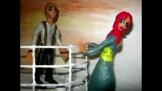Тантаник пародия на Титаник, мультфильм из пластилина
