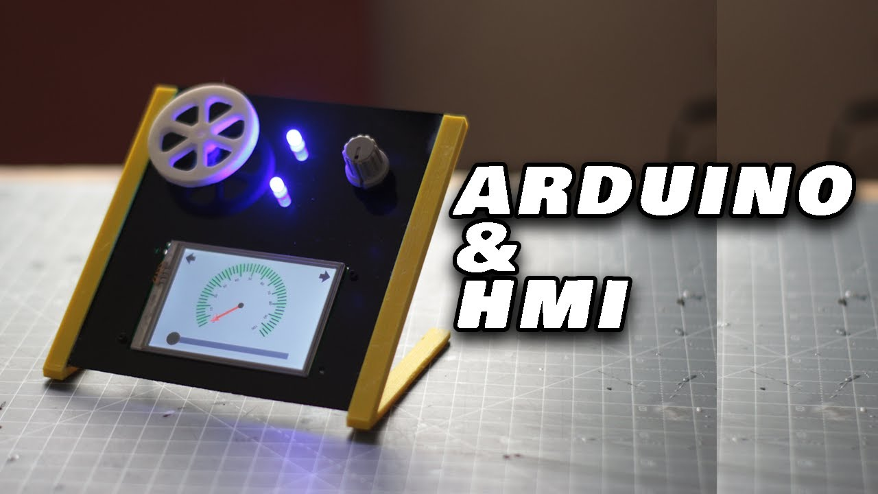 How to Interacting Arduino with HMI | Controlling arduino from HMI