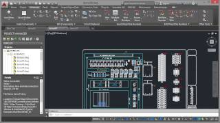 Autocad Electrical 2015 Tutorial | Panel Drawings