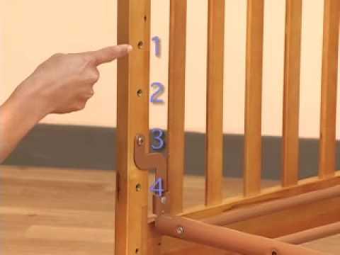 Cuna malca de simplicity youtube - Cunas para bebes de madera ...