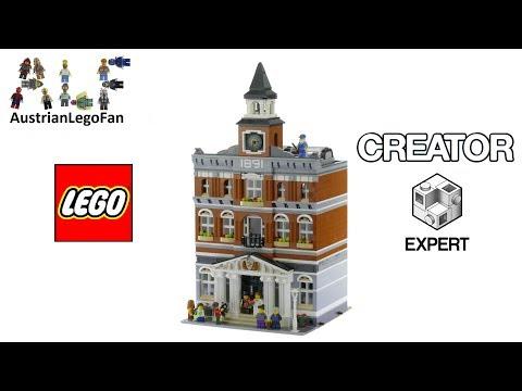 Lego Creator 10224 Town Hall - Lego 10224 Speed Build