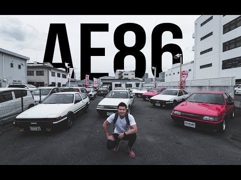 AE86 SPECIAL SHOP IN KYOTO!