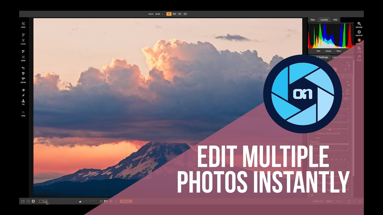 Easy Ways to Batch Edit Photos – ON1