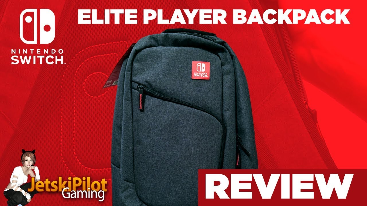 421d61707 REVIEW: Nintendo Switch Elite Player Backpack - YouTube