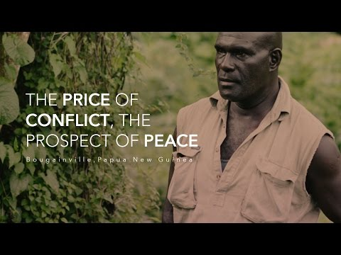 The Price of Conflict, The Prospect of Peace : Bougainville , Papua New Guinea  (360 VR)