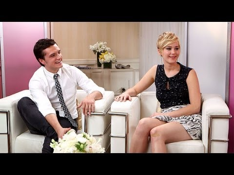 Jennifer Lawrence Talks Pixie Cut, Catching Fire, and More With Josh Hutcherson