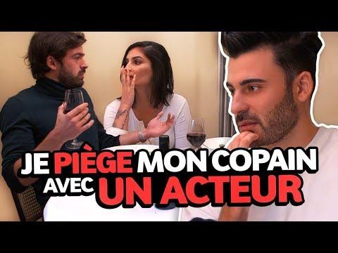 CAMÉRA CACHÉE: JE PIÈGE MON COPAIN 😱UN ACTEUR ME DRAGUE - Lufy & Enzo