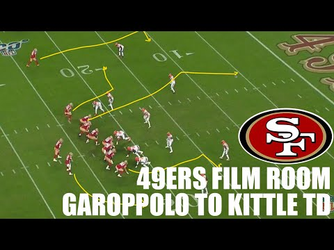 49ers Film Room | Jimmy Garoppolo TD Pass to George Kittle against the Browns