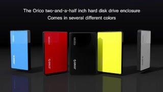 ORICO Tool Free USB 3.0 External Hard Drive Enclosure for 2.5