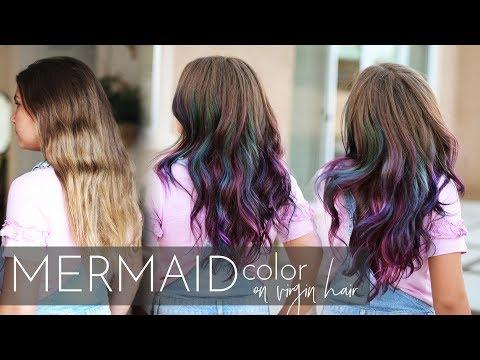 mermaid-hair-color-on-virgin-hair-|-vivid-balayage-tutorial-(one-easy-step!)