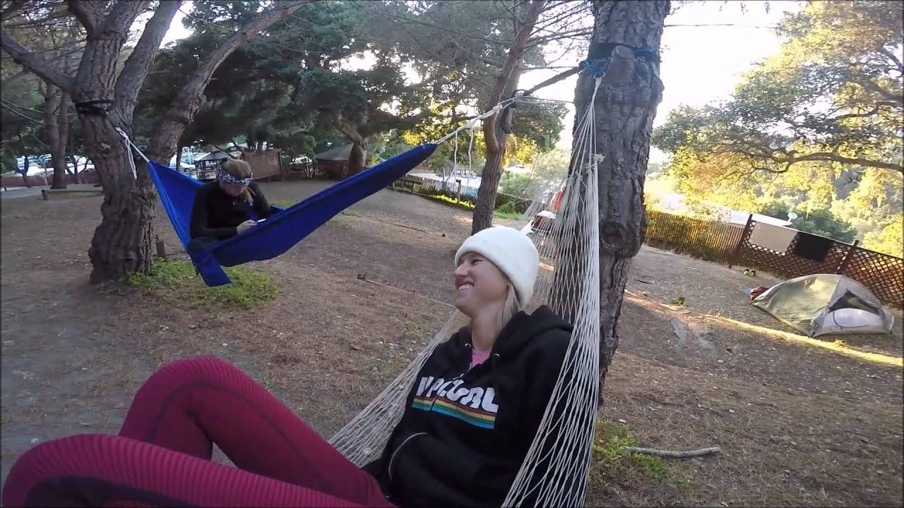 carmel camping, point lobos diving - youtube