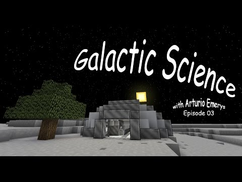 Galactic Science Let's Play Ep 03 (Transfer Node without Sand)