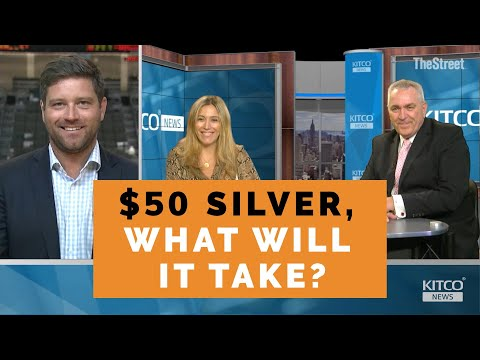 Silver Looking Good But What Will It Take To Hit $50?