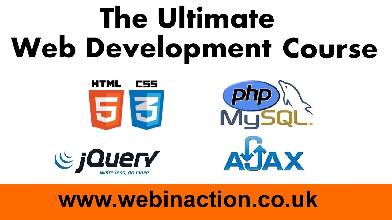 The Ultimate Web Development Course 01-01: Introduction - YouTube