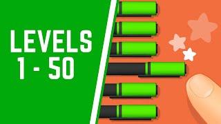 Make It Perfect! Game Walkthrough Level 1-50