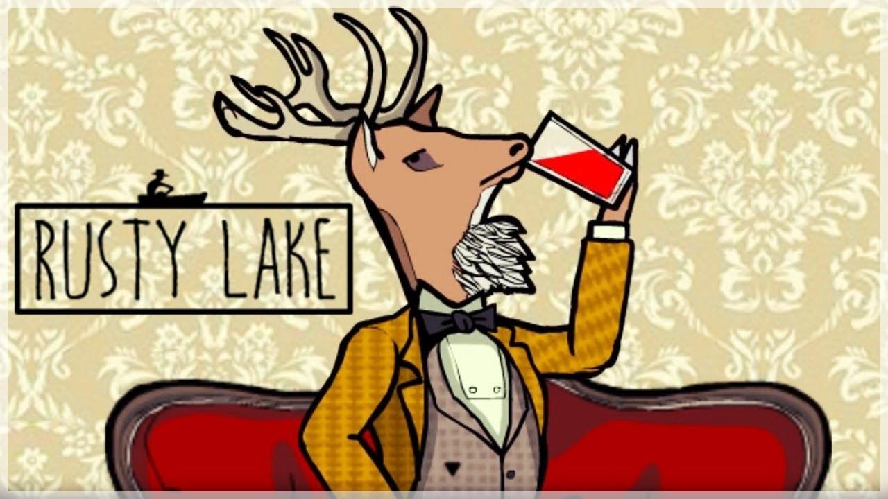 『銹湖:旅館』鹿頭示範喝毒酒 - YouTube