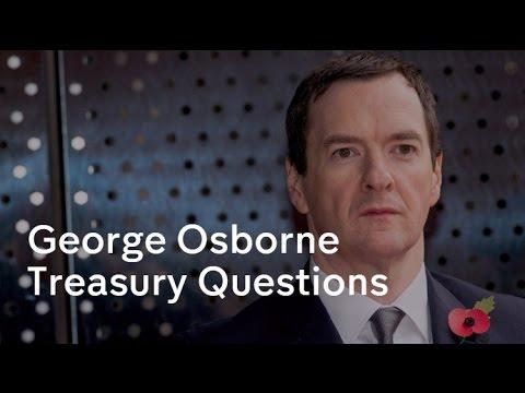 George Osborne vs John McDonnell  - Treasury Questions