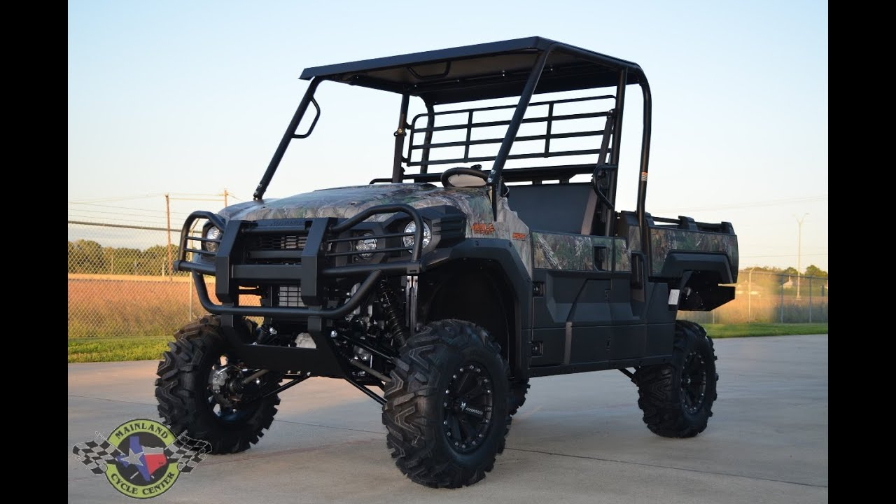 15 869 Kawasaki Mule Pro Fx Camo Custom Lifted