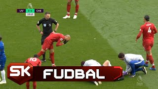 Da li je Fabinjo Namerno Istresao Nos na Azara?   SPORT KLUB Fudbal