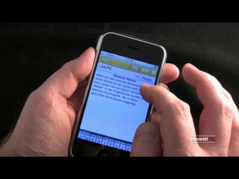 Duden, iPhone App