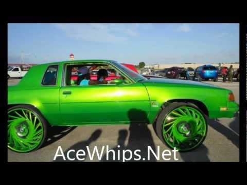 """AceWhips.NET- Oldsmobile Cutlass on 28"""" VF602 ASANTIS Slidin"""