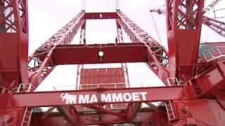 Mammoet bouwt grootste kranen ter wereld