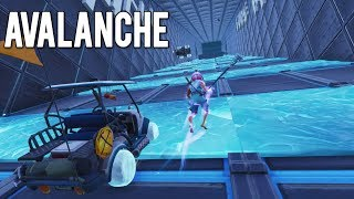 *AVALANCHE* HARDEST ICE OBSTACLE COURSE In Fortnite Creative! (with code)