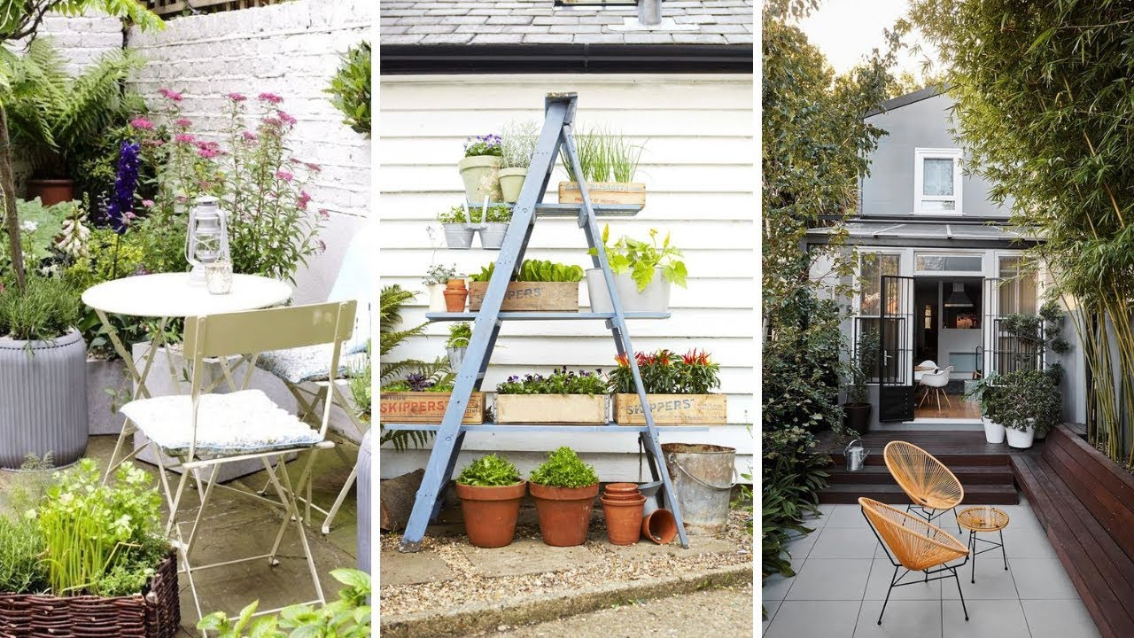 20 Small Courtyard Garden Ideas