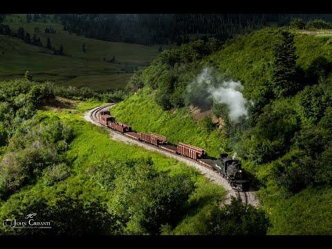 [HD] Cumbres & Toltec Scenic Railroad on July 21, 2015